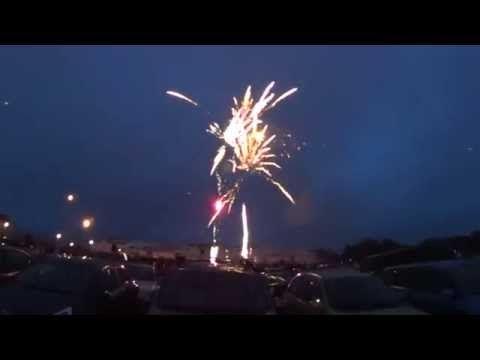 Vuurwerk in de koog 2015