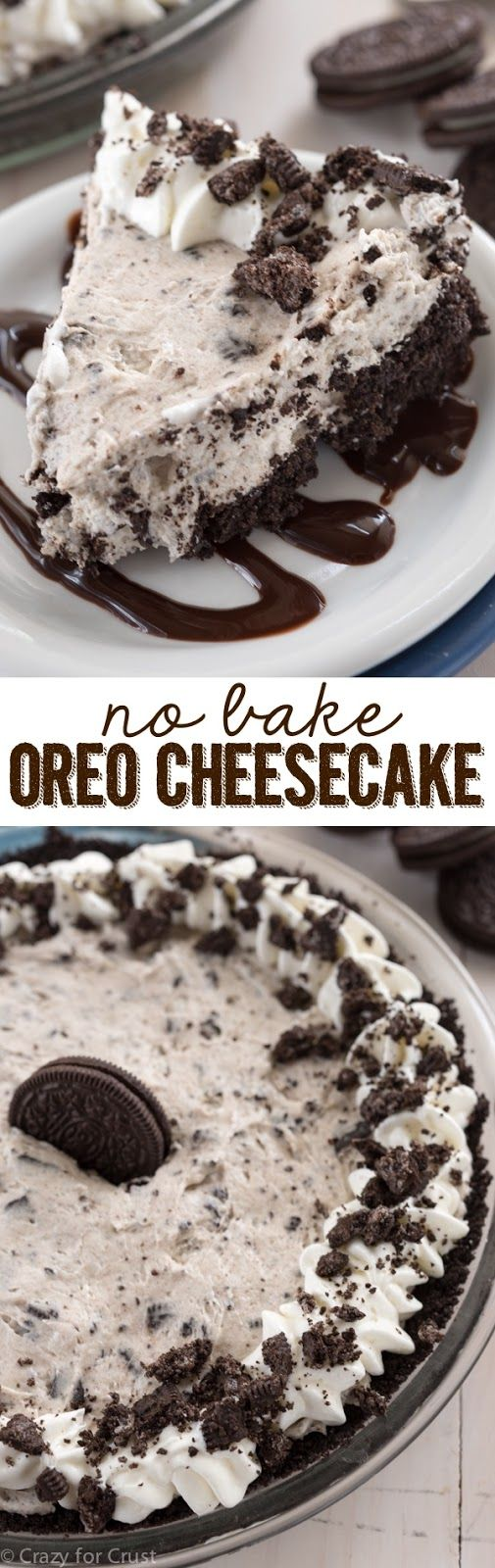MintyFood Oreo Cheesecake  No Baking is part of Desserts -