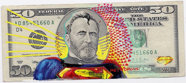 Justice League Of America A Series Defaced Us Currency By German Artist And Designer Aslan Malik Shows Presidents On The 5 10 20 50 100 Bills