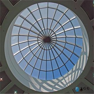 Sgg Architectural Glass Supplier Why The Laminated Glass Are Safety Glass And Perfect Apply To The Place Skylight Architecture Skylight Design Skylight Glass