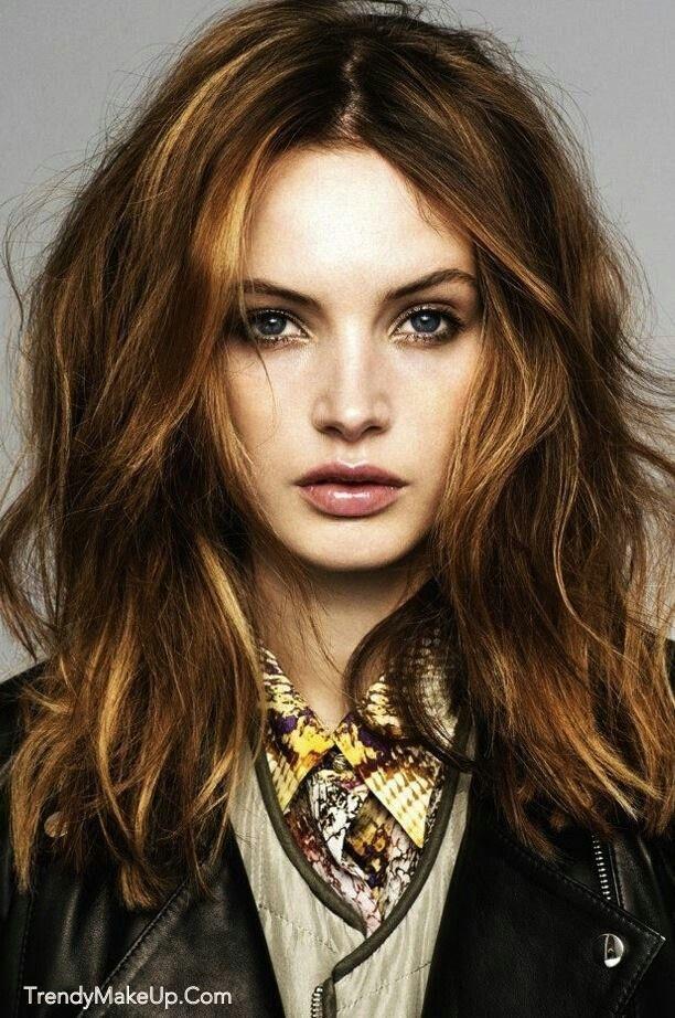 Mid Length Messy Hair