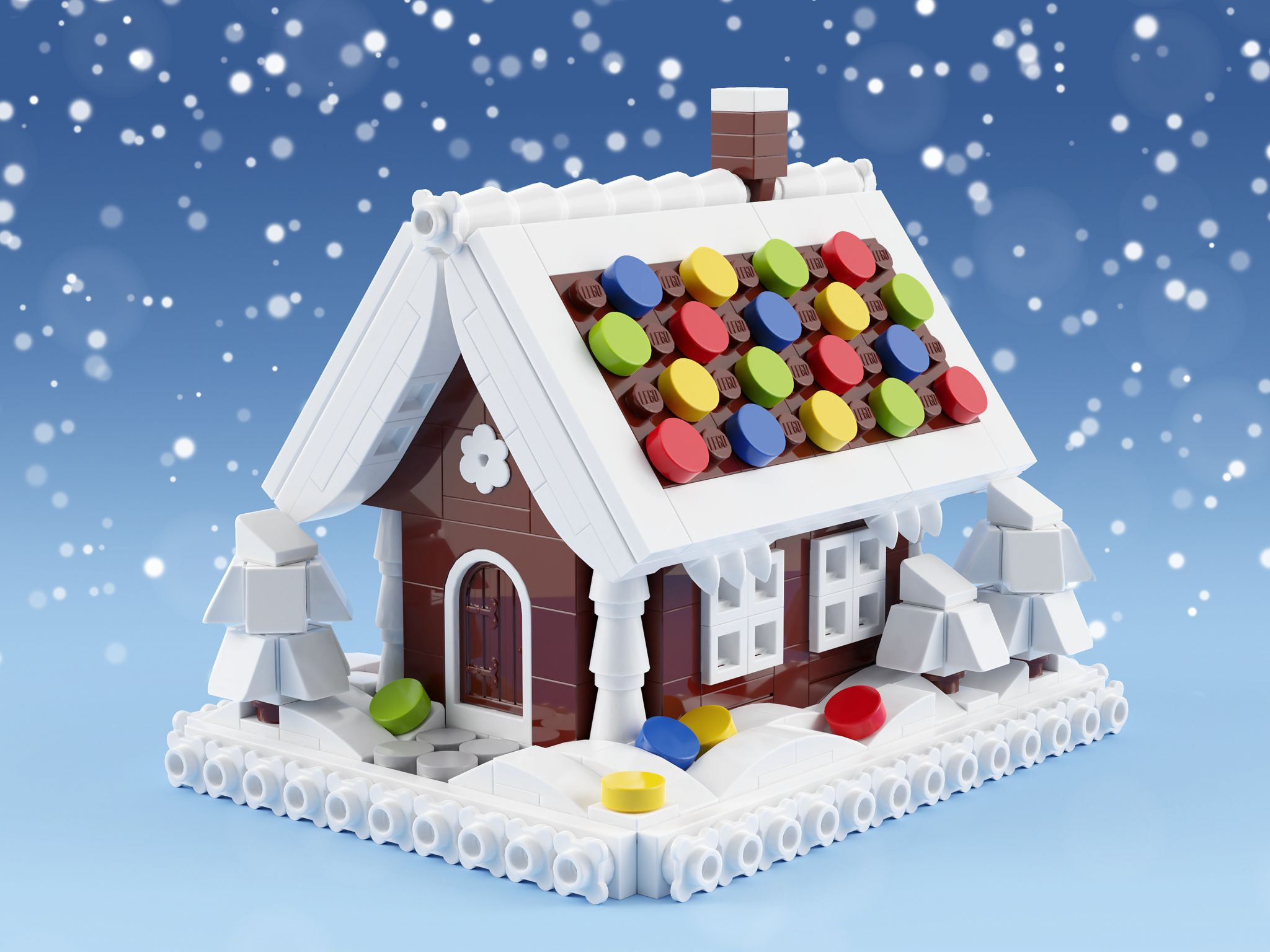 Gingerbread House Mini (With images) Mini gingerbread