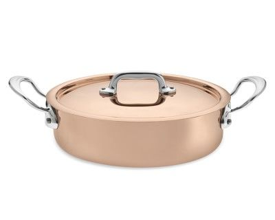 Mauviel 1830 M150S Copper 3.2-Qt. Rondeau #williamssonoma