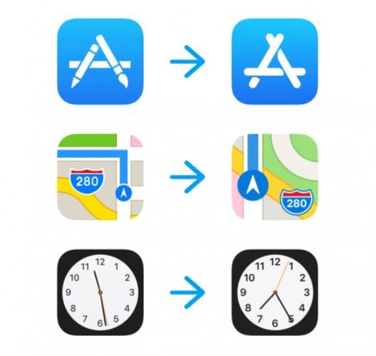 App Store Tren Ios 11 Co Biểu Tượng Mới Apple Maps App Store Icon Ios 11