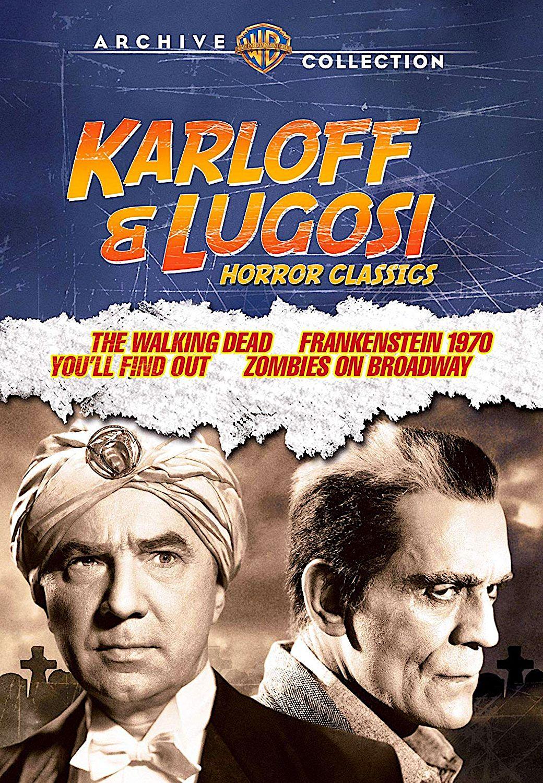 Karloff lugosi horror classics the walking dead
