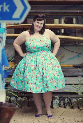 Handmade Halter Mermaid plus size Dress | Silly Old Sea DogSilly ...