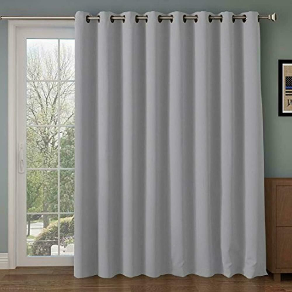Ebay Sponsored Vertical Blinds Wide Window Patio Sliding Doors Panel 100 X 84 Light Filtering Insulated Curtains Curtains Patio Door Curtains