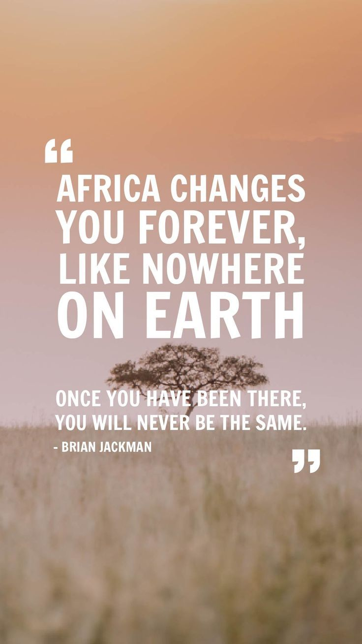 #TravelQuote #Africa #Tanzania #EasyTravel