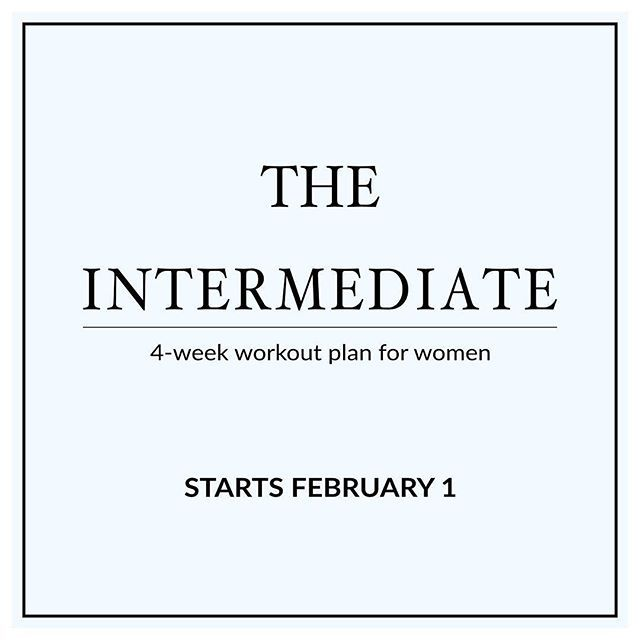 Join us on Monday to start our 4-week Intermediate Workout Plan! Each week you'll do 4 Intense Workouts, that include both cardio  and strength training moves , to prepare your body and get the most out of all your future athletic endeavors! http://www.spotebi.com/workout-plans/4-week-intermediate-women/ @spotebi #Fitness #GetFit #Happy #Healthy