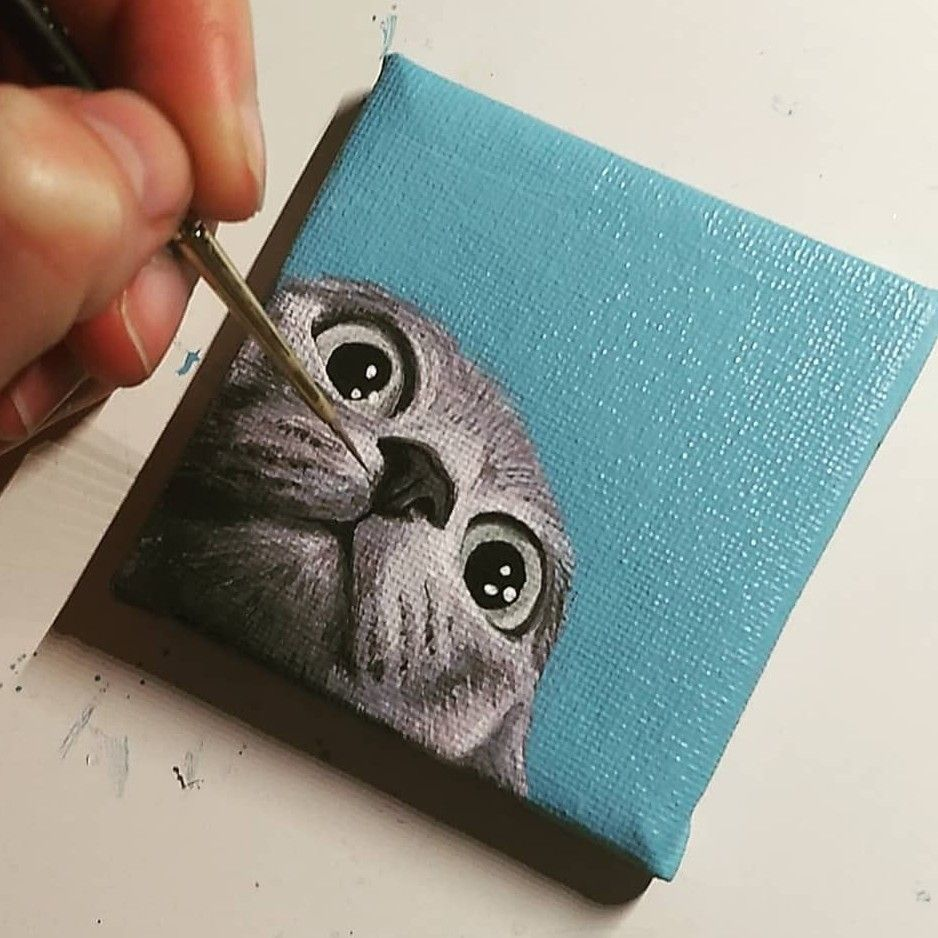 Pin By Silvia Solano Solano On Painting In 2020 Mini Canvas Art Small Paintings Small Canvas Art If interested you can check my. pinterest