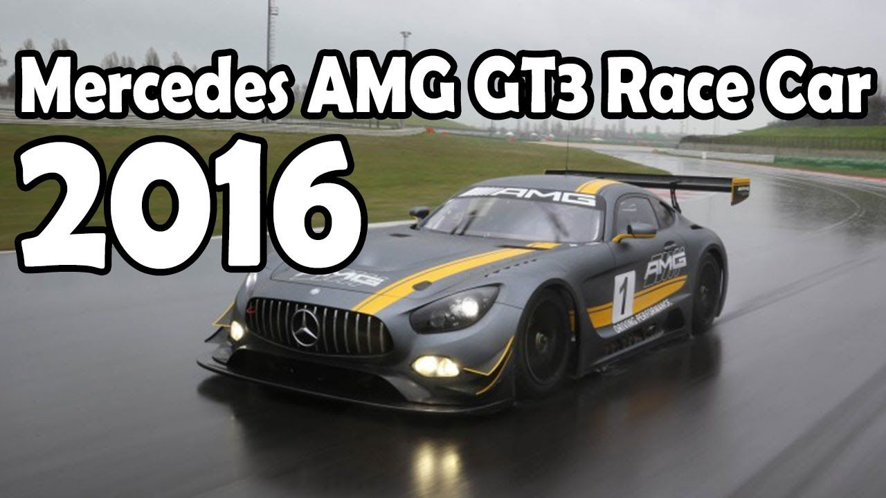 2016 Mercedes AMG GT3 Race Car 6.2L V 8 550 hp 6 Speed Sequential ...