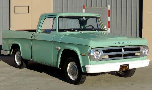1970 dodge d100 pickup custom trucks pinterest dodge. Black Bedroom Furniture Sets. Home Design Ideas