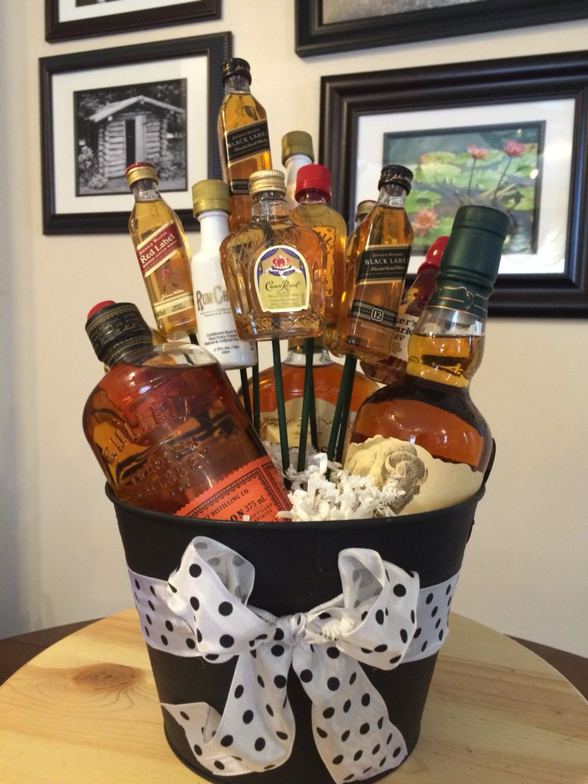 Decided to make a Liquor Bouquet for my Boyfriend