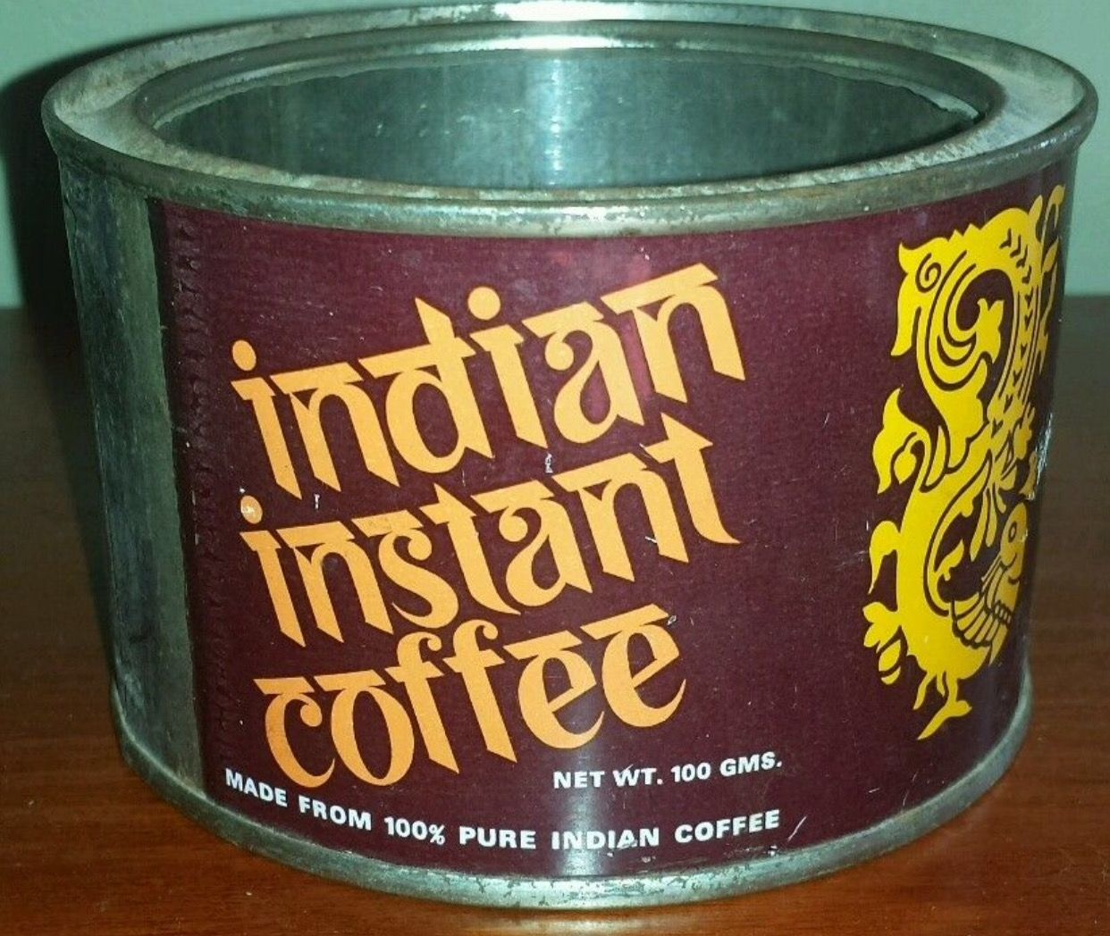 Indian Instant Coffee Antique coffee grinder, Indian