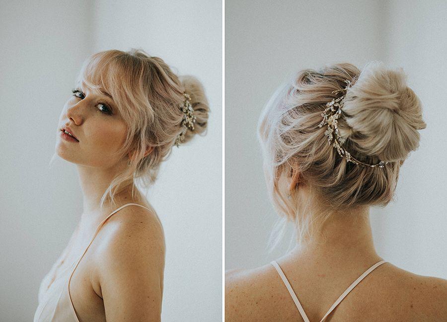 Pin von Frau Stengel auf Wedding Hair | Bridal bun ...