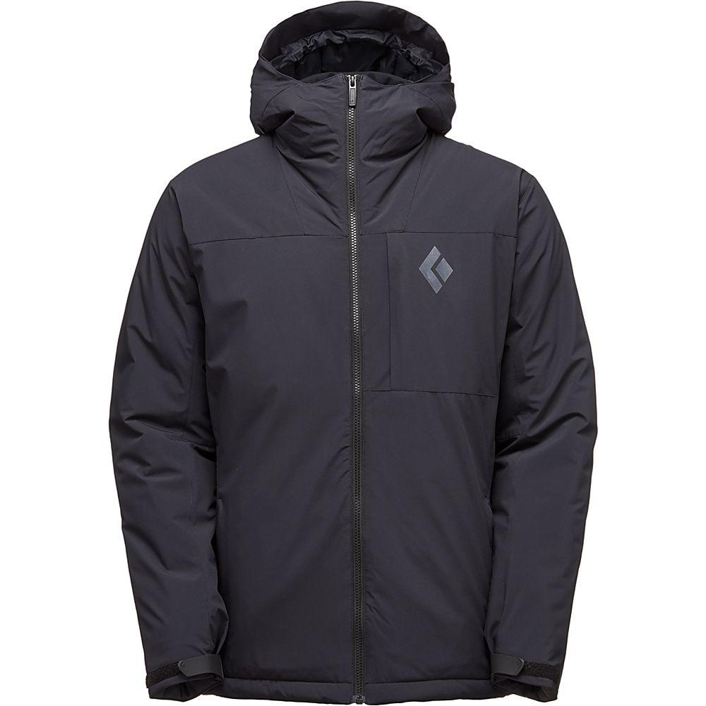 Mens Pursuit Hoody Black ski jacket, Hooded jacket men