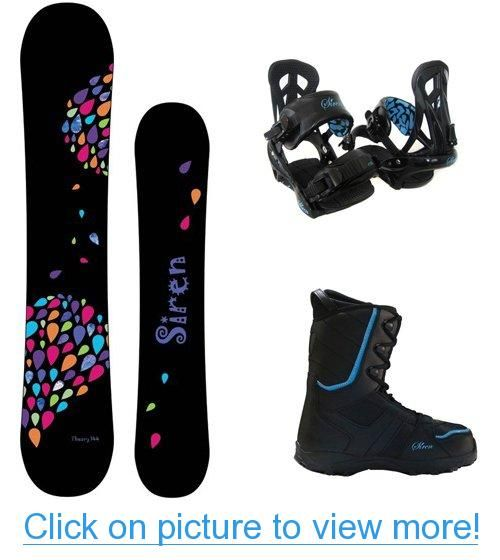 Siren Theory 2013 Women's Snowboard Package + Theory