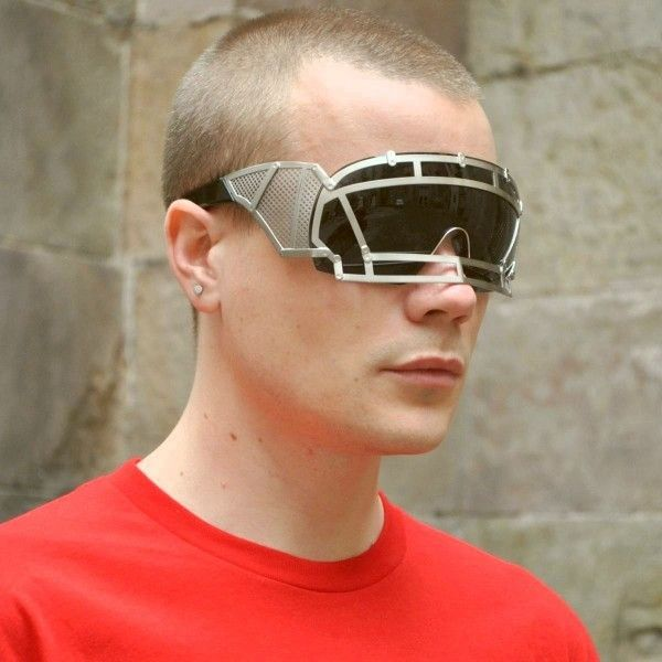 KTZ x Linda Farrow Face Shield Sunglasses