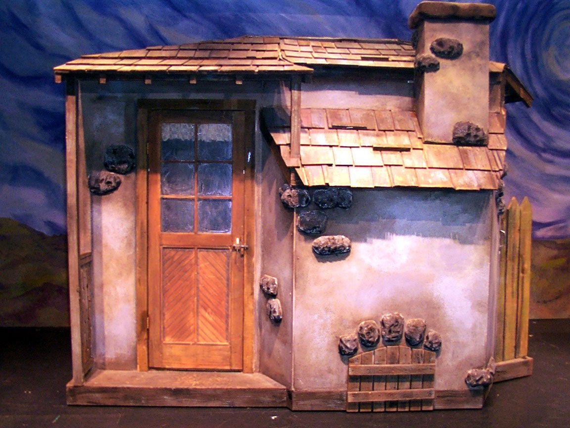 Fiddler Back Of House Jpg 1 152 864 Pixels Fiddler On The Roof Set Design Theatre Scenic Design