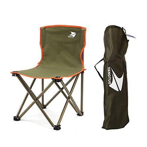 Yangtuo Armless Camping Folding Quad Chair With Carry Bag