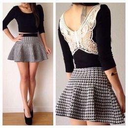 Mini vestido preto 2 peças