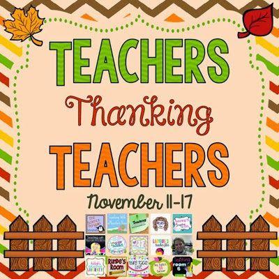 Young Teacher Love: Teachers Thanking Teachers Giveaway