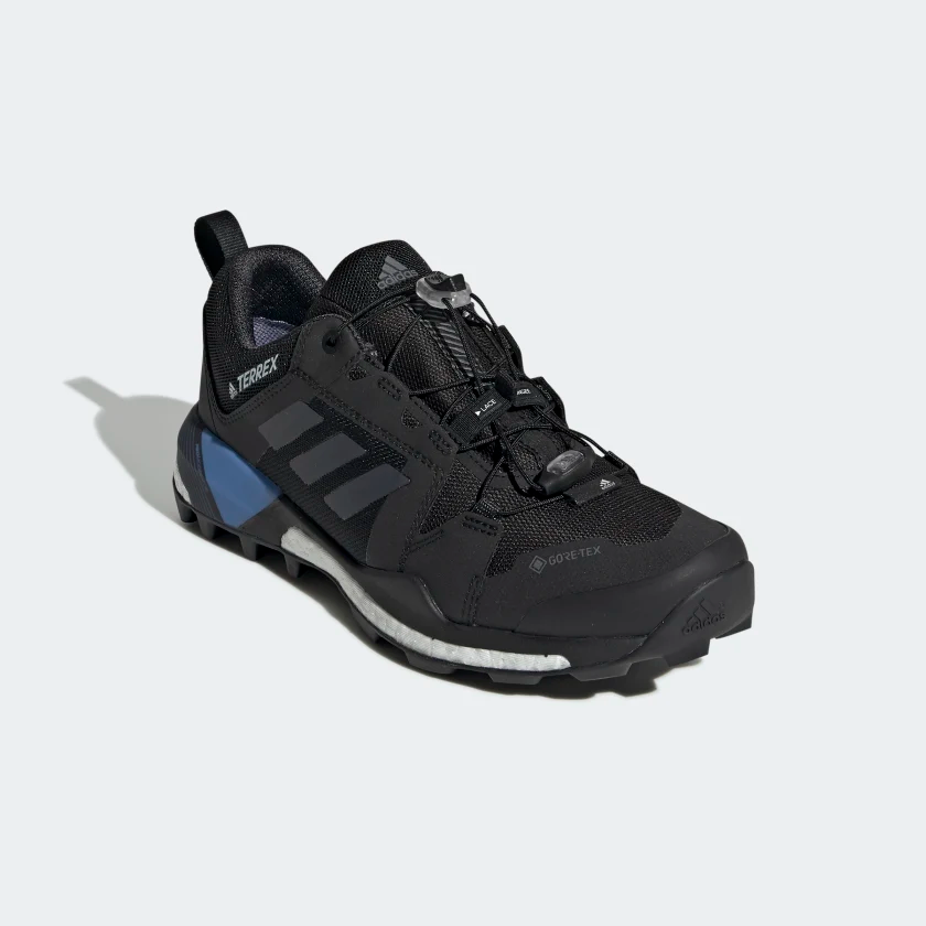Terrex Skychaser Gtx Shoes Core Black Grey Four Real Blue G28458 Shoes Hiking Shoes Adidas