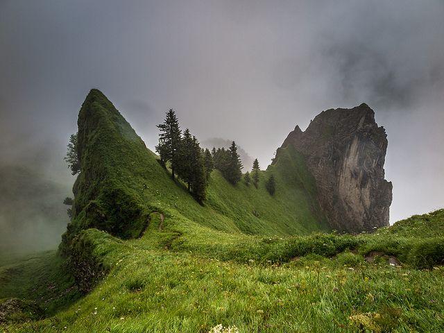 """eredion: """"Appenzellerland by pboehi on Flickr. """""""