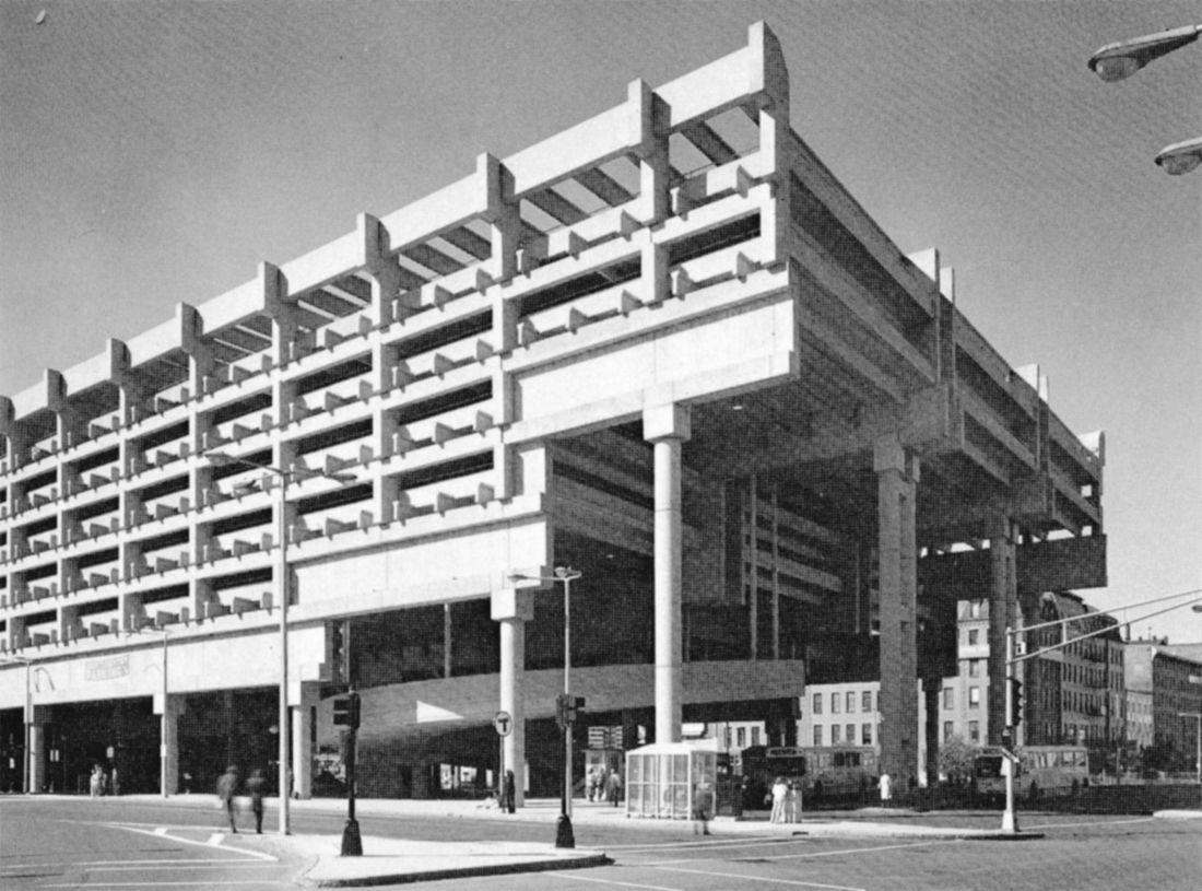 Government Center Garage 1966 70 Boston Massachusetts Samuel