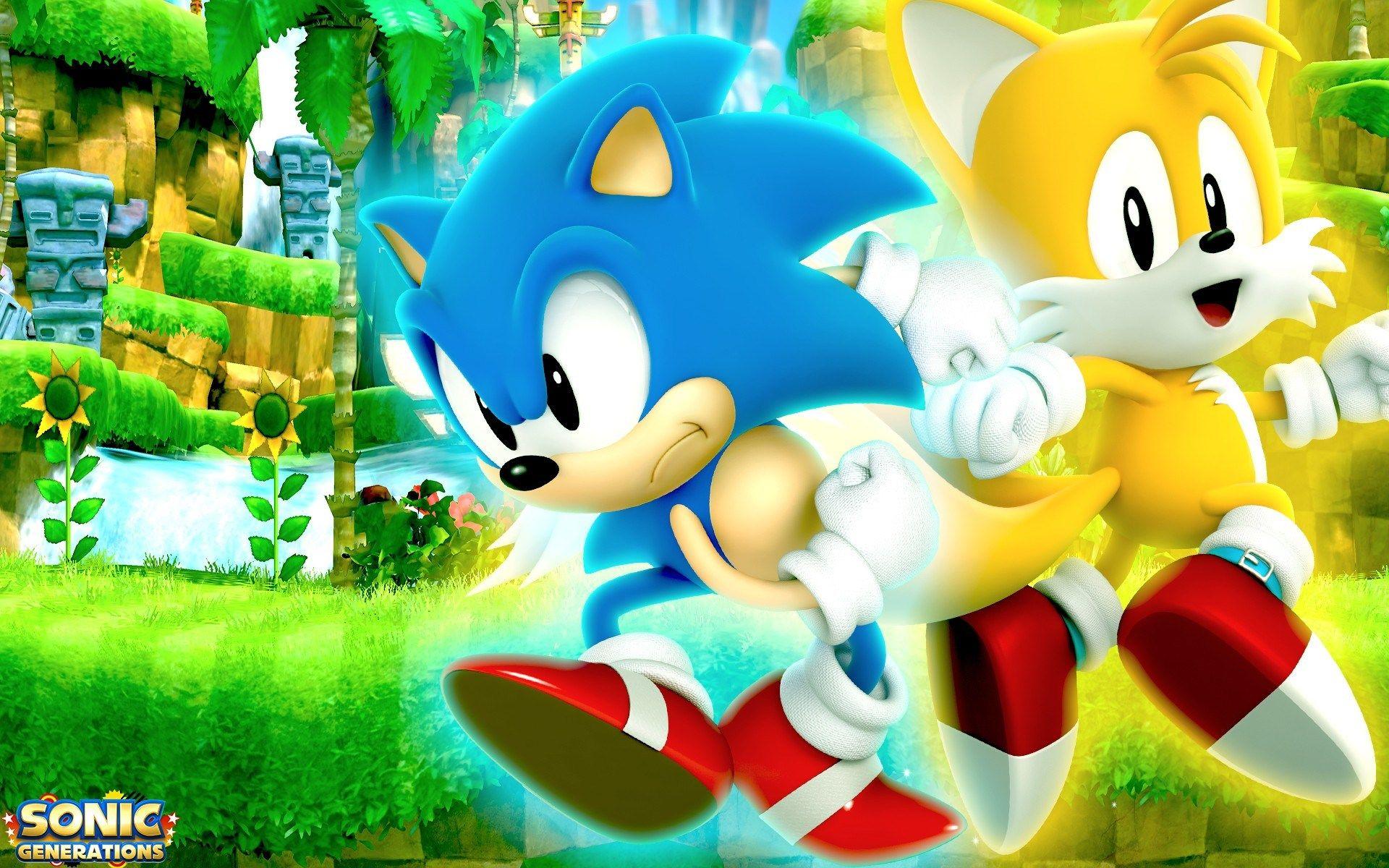 Sonic Generations For Desktops 1920x1200 Ololoshenka Pinterest