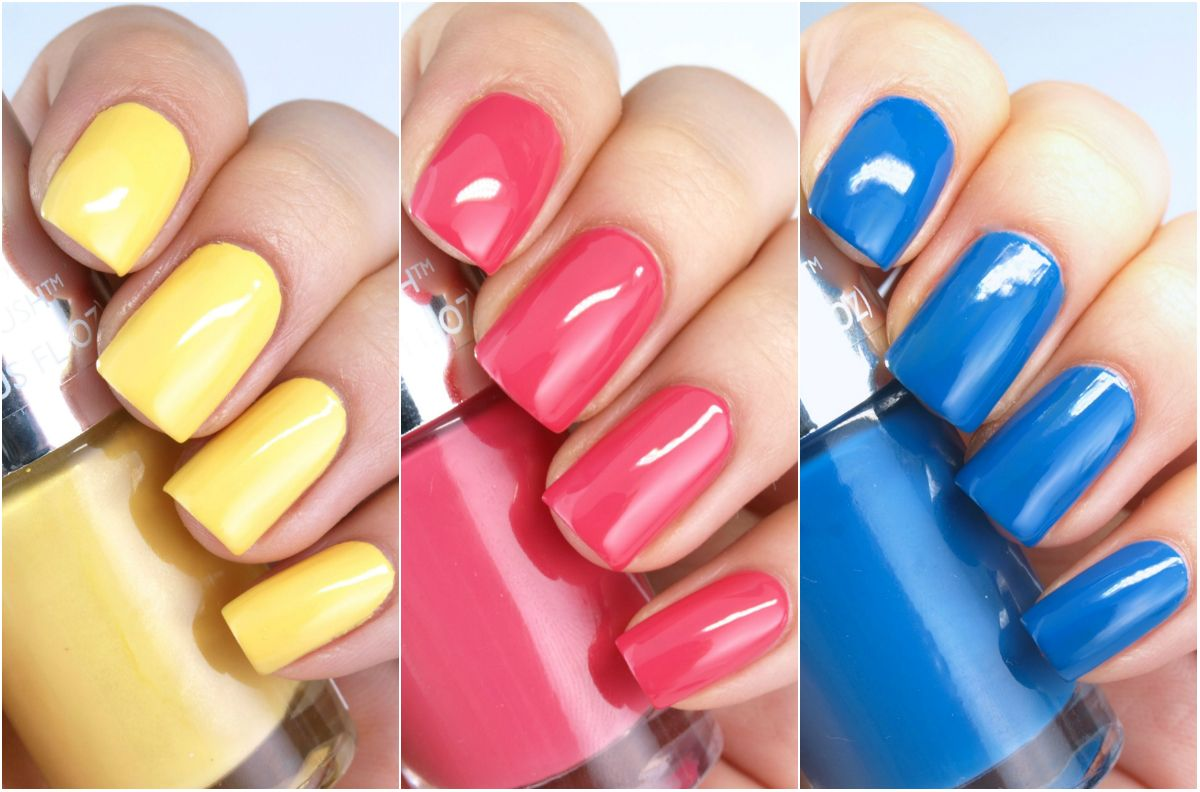 the body shop color crush nail polish review swatches spring 2015