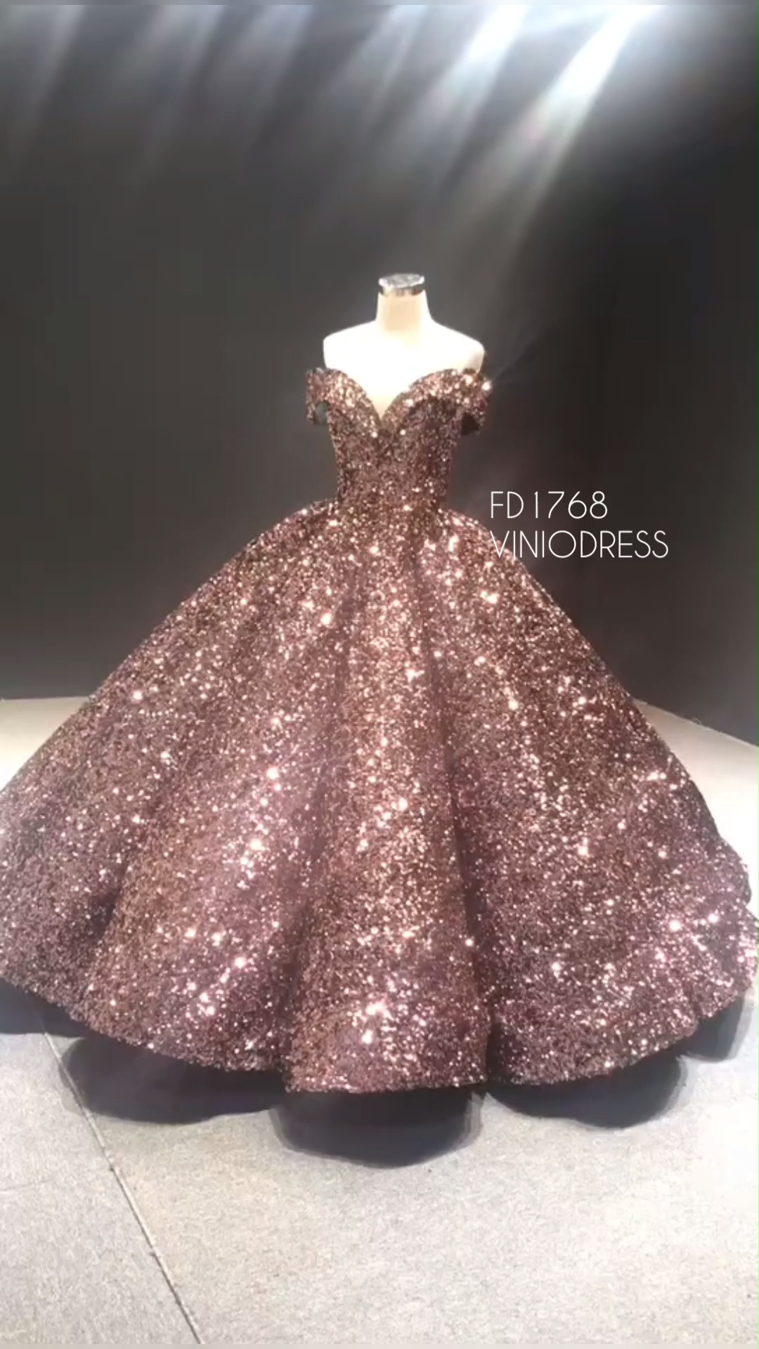 Sparkly vintage sequin ball gown. Off the shoulder haute couture dresses. #couture #prom #style #fashion #princessdress #quinceaneradresses #quincedress #debutante #sweet15dress #quinceanera #quinceañera #quinceañeradress #debutgowns