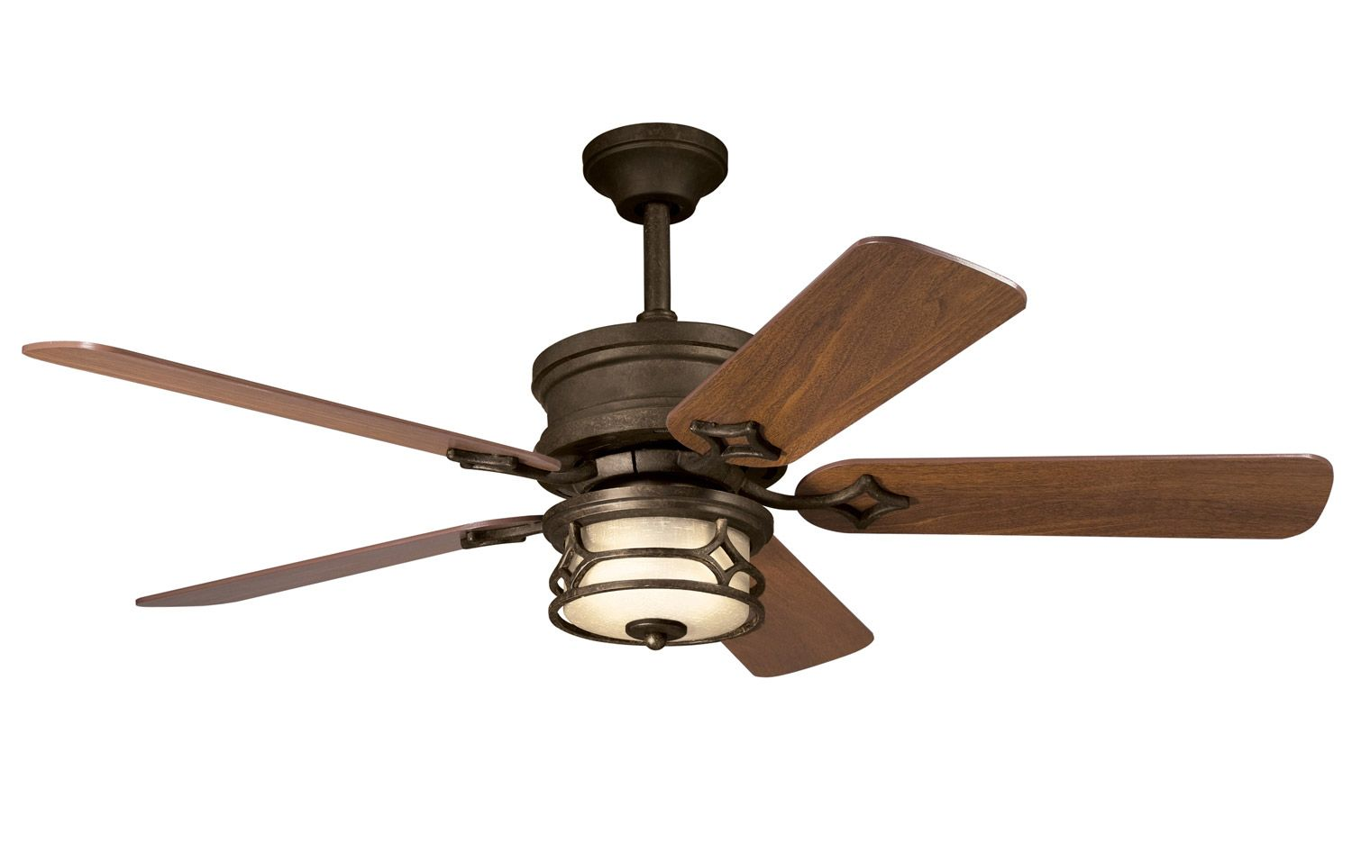 Tiffany Style Ceiling Fans Craftsman Mission Chicago Ceiling Fan Kichler 300001agz Ceiling