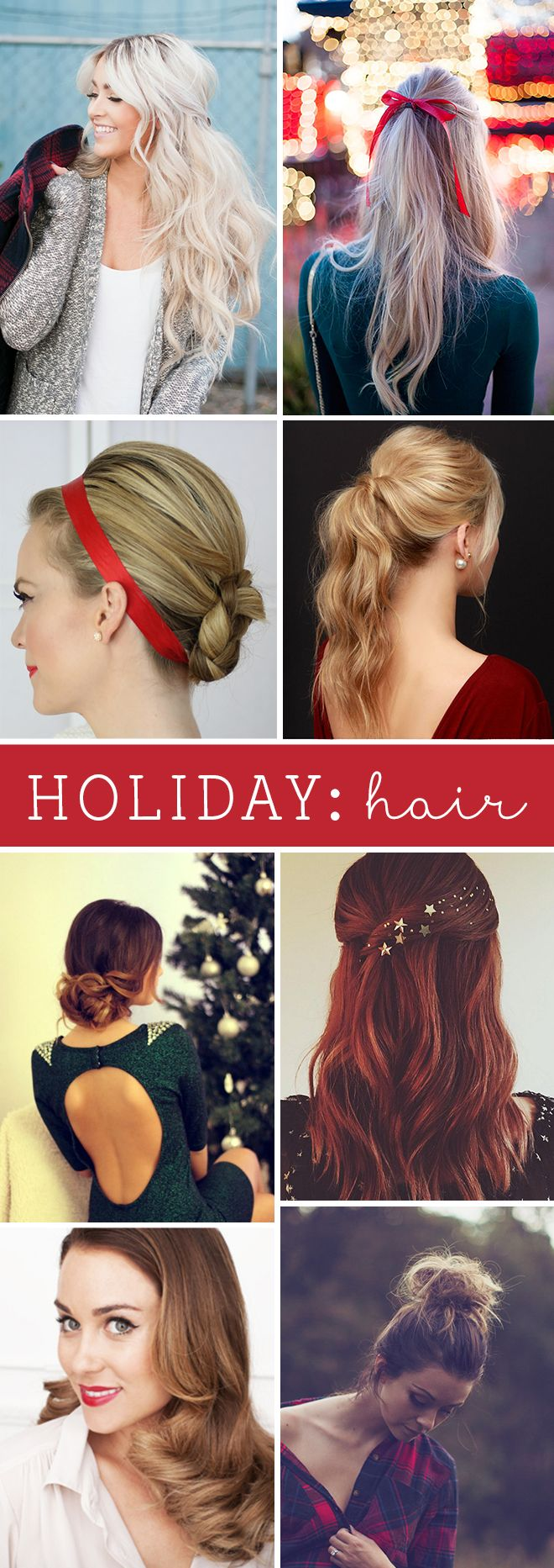 The Best Holiday Hair Tips For 2015!