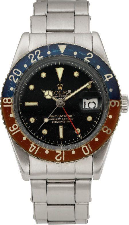 66fa3a5121d Bakelite Pepsi dial GMT Master. Rolex Rare