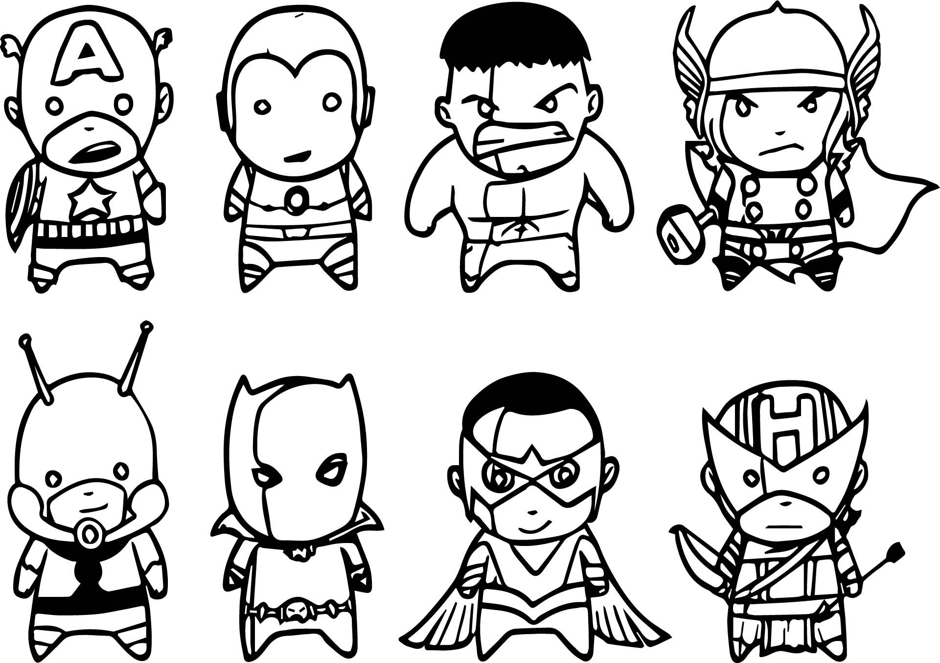 awesome Avenger Chibs Assemble