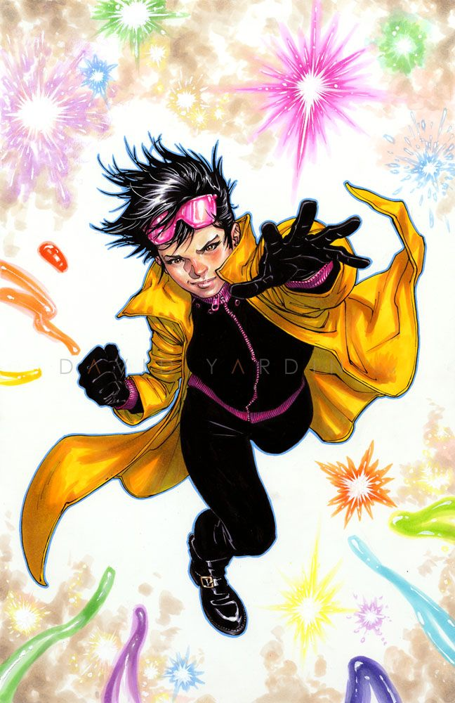 Vampire Jubilee Davidyardin Jubilee Coloured With Mepxy Marvel Jubilee Marvel Comics Marvel Heroes