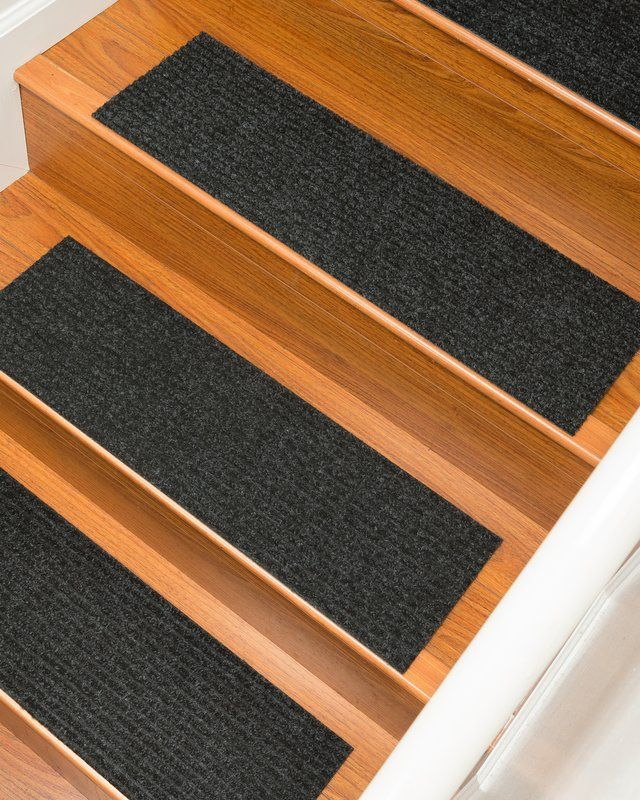Best Bayless Charcoal Stair Tread Carpet Stair Treads Stair 640 x 480