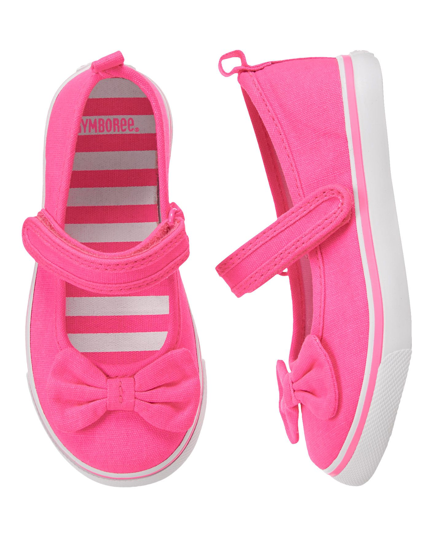 e18cc3d584 Have it - Neon Mary Jane Sneakers at Gymboree sale