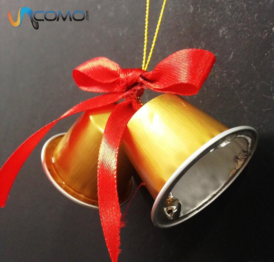 cmo hacer campanas de navidad con cpsulas de nespresso las campanas navideas son uno de - Campanas Navideas