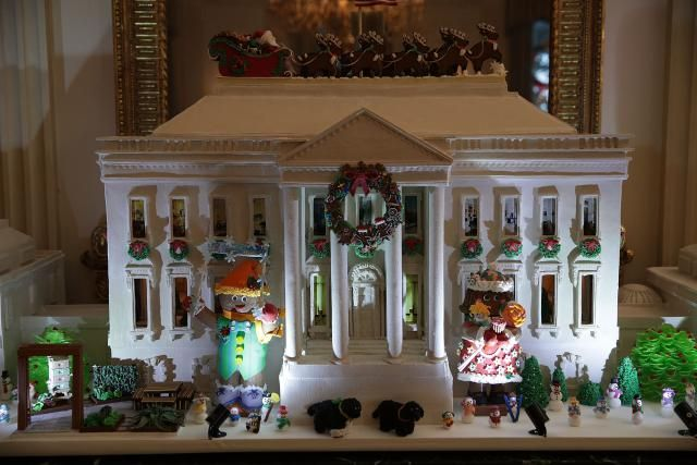 Here\u0027s How the White House Has Been Decorated for the Holidays