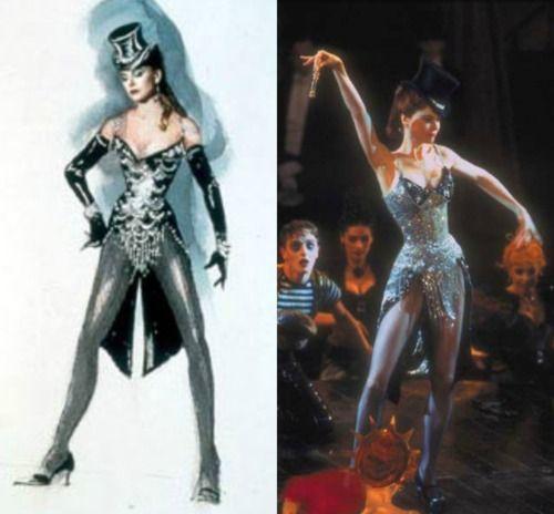 Nicole Kidman ~ Moulin Rouge | costume sketches ...