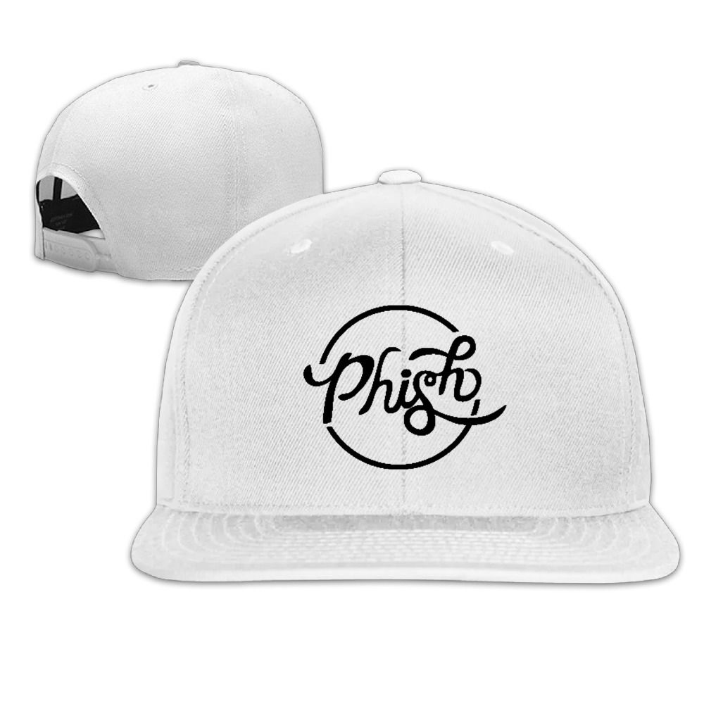 Phish Logo Black Baseball Fitted Hat Casual Cap Gorras Hip Hop Snapback Hats  Wash Cap For 90ec36a5c74b