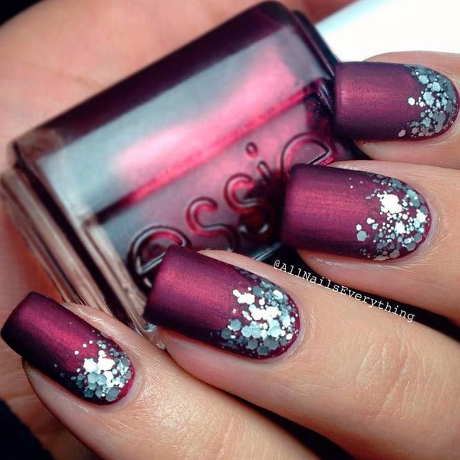 Ombre Glitter Nails Designs to Make Your Look Shiny | Glitter nail ...
