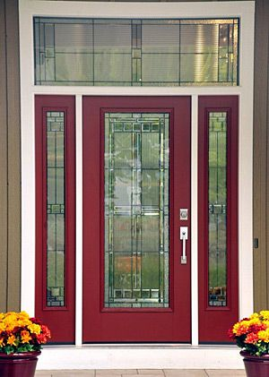 Image Result For Therma Tru Door With Saratoga Glass