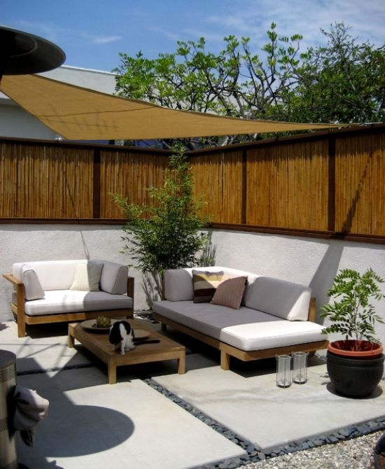 Bamboo Screens Garden And Patio Wind Protection