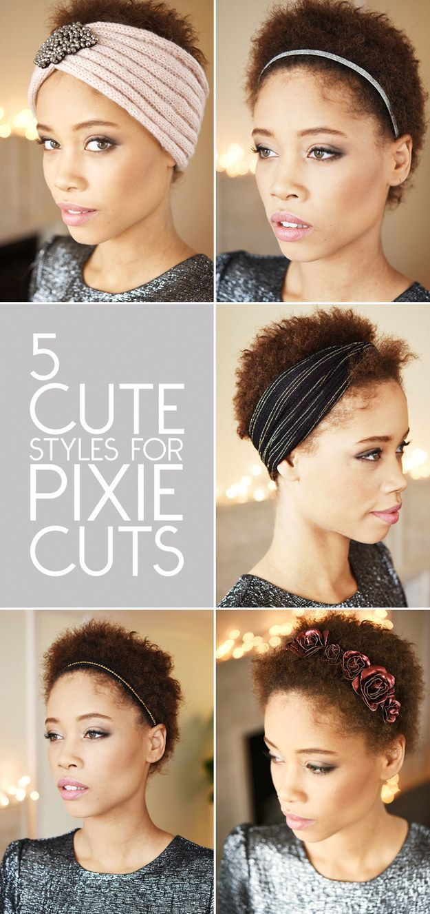 styles for pixie cuts | pixie cut, pixies and hair accessories