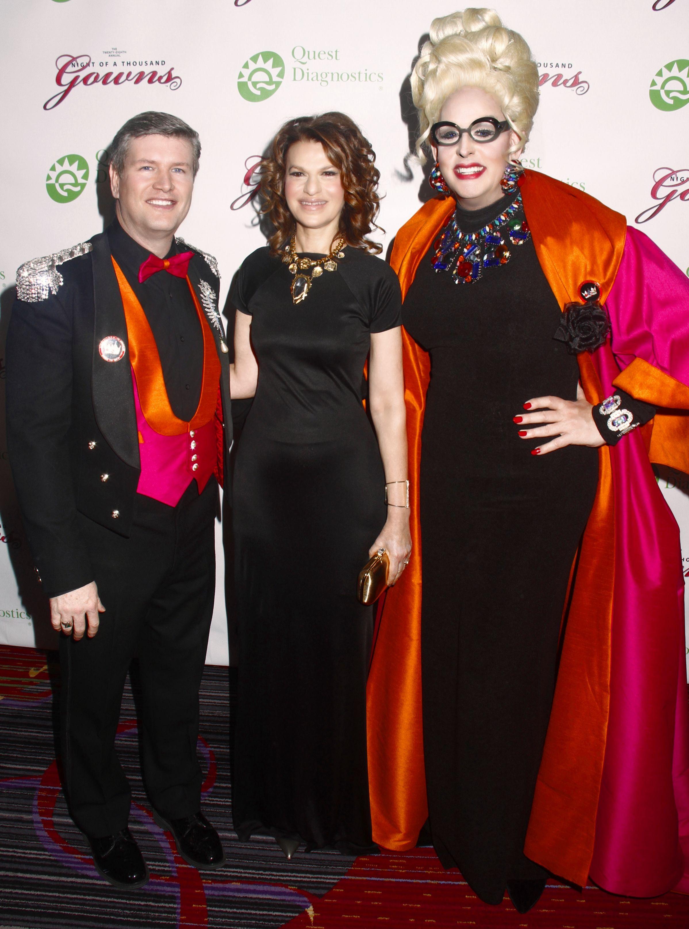 DorisDearNY and Jim with @Sandra Bernhard at Night of a Thousand ...