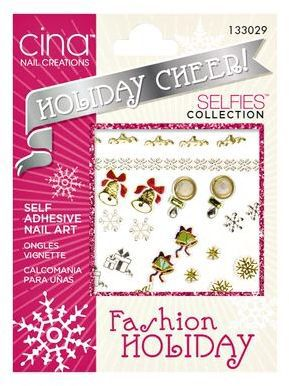 Cina Nail Creations Merry Baby Holiday Cheer Decals Cute Idea Aff