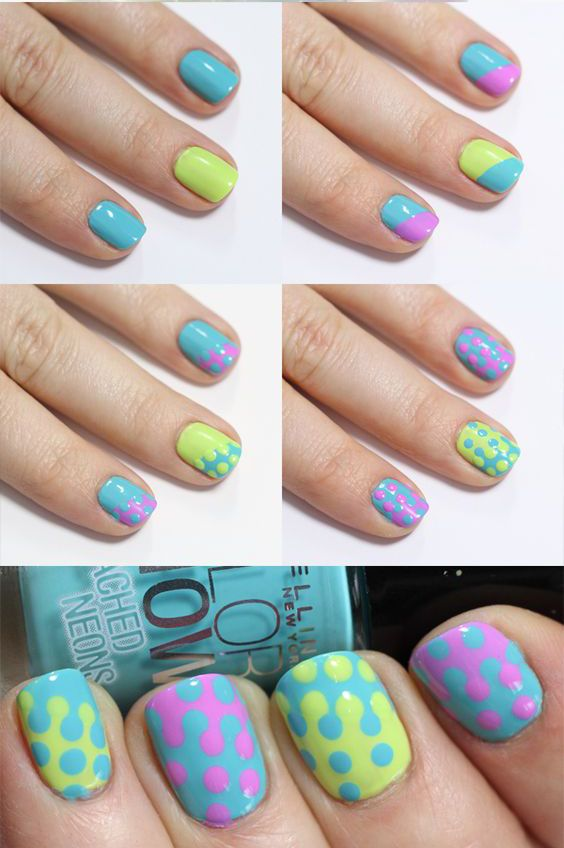 Top Cool Summer Nail Art Designs 2016 - Creative Art Blog - Top Cool Summer Nail Art Designs 2016 - Creative Art Blog Top